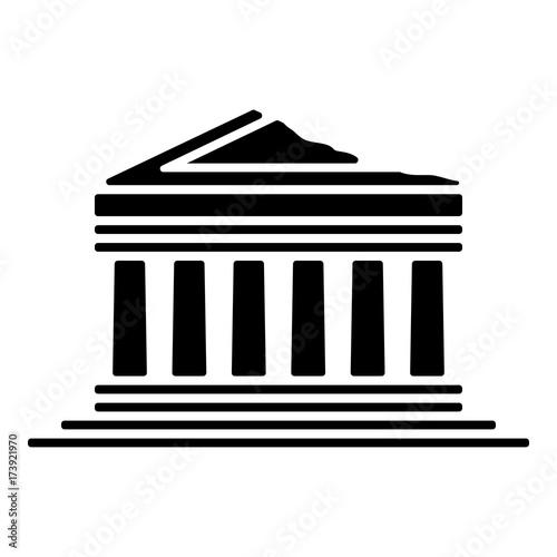 Wahrzeichen Icon -  Akropolis Fototapete