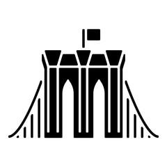 Wahrzeichen Icon - Brooklyn Bridge