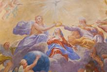 Fresco In San Gimignano - Holy...