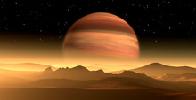 New Exoplanet Or Extrasolar Gas Giant Planet Similar To Jupiter With Moon