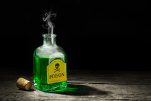 The Poison Is A Green Liquid I...
