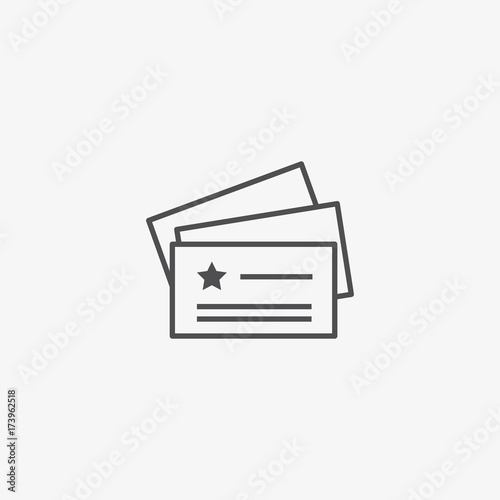 Business Cards Vector Icon Name Card With Logo Vector Web Design