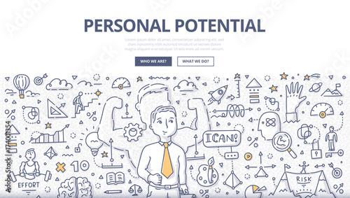 Fotografía  Personal Potential Doodle Concept