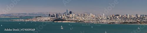 Obraz na dibondzie (fotoboard) Skyline San Francisco