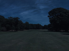 Long View Down The Fairway Of ...
