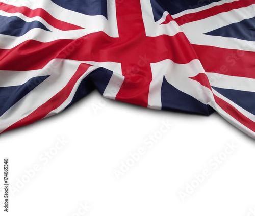 Obraz na plátně Union Jack flag