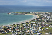 View Of Apollo Bay And Houses ...