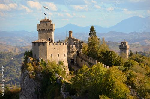 Fotografiet Castello a San Marino - Repubblica di San Marino