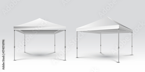 Mockup Promotional Outdoor Event Trade