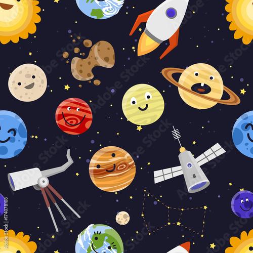 astronautyczna-planety-ukladu-slonecznego-astrologii-tla-wektoru-bezszwowa-deseniowa-ilustracja