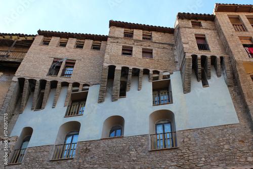Casas colgantes de Tarazona (Zaragoza, Aragón, España)