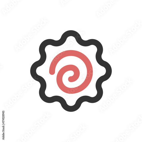 Sushi Filled - Narutomaki Icon Wallpaper Mural