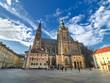 St. Vitus cathedral in Prague Castle, Prague, Czech Republic