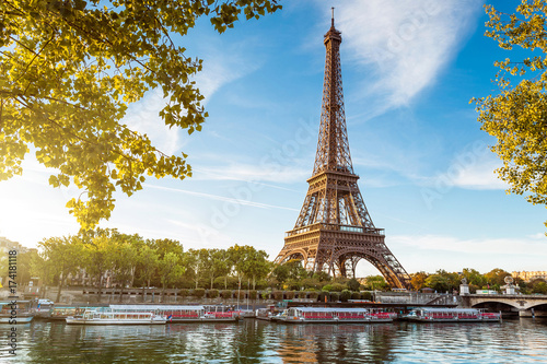 Obraz Paris. France. Love - fototapety do salonu