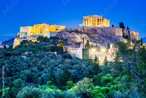 Plakat Akropol - Ateny, Grecja