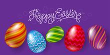 Happy Easter Illustration. Let...