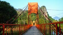 The Orange Bridge Over The Nam...