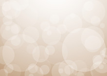 Background With Brown Bubbles