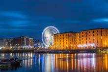 Wheel Of Liverpool At Albert Dock, Liverpool, UK
