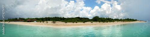 Poster Tropical beach Cozumel Island Beaches