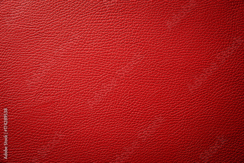 Fotografía red leather texture background