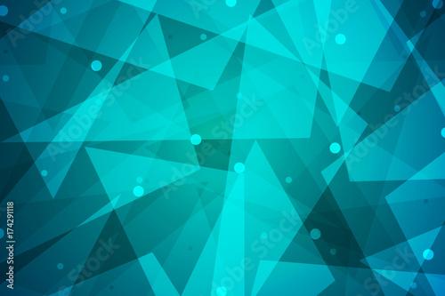 Plakat Streszczenie low poly trójkąt tło