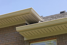 Roof Showing Gutters And Soffi...