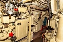 Interior Of Combat Submarine C...