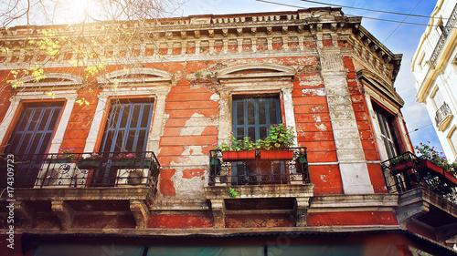 Keuken foto achterwand Buenos Aires The oldest district of Buenos Aires (San Telmo)