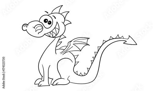 ausmalbilder von drachen