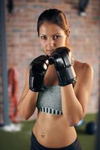 Fitness Muscular Lean Woman Bo...