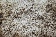 White Sheepskin Overhead