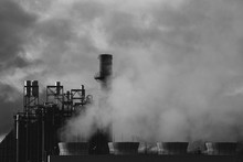 Paper Mill Exhaust Fumes
