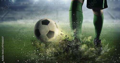 soccer-goal-moment-mixed-media