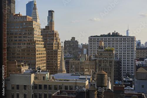 Obraz na dibondzie (fotoboard) Nowy Jork widziany z góry