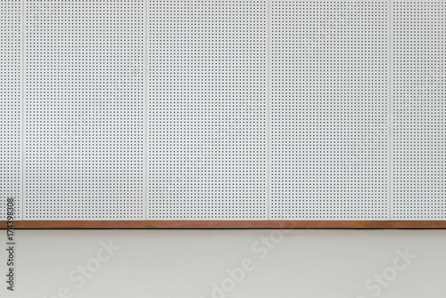 Empty room - floor with soundproof wall Canvas-taulu