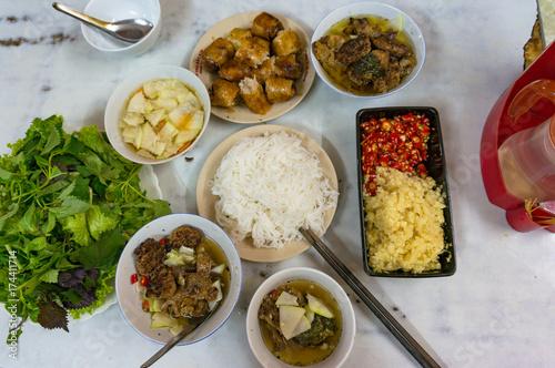 Foto  Ban cha meal set