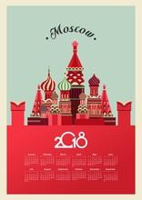 Russia 2018 Calendar