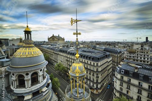 Papiers peints Paris Grands Magasins Boulevard Haussmann Paris