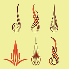 America Pinstriping Style Coll...