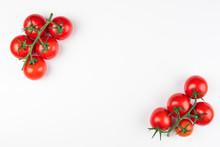 Tomato On The White Background...