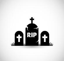 Graveyard Icon VECTOR
