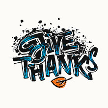 Thanksgiving Concept Lettering...