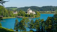 Lake Fuschl, Salzburger Land, ...