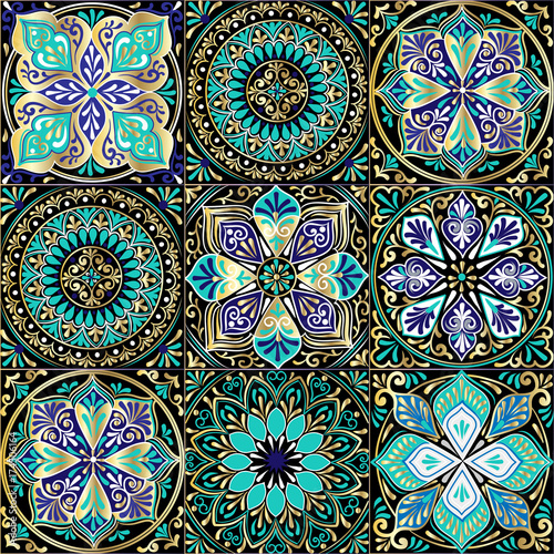 colorful-floral-seamless-pattern-from-squares