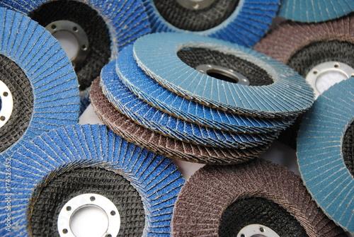 Flap grinding wheel, Fan Abrasive Disc,  abrasive disc Tapéta, Fotótapéta