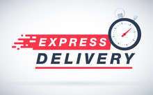 Express Delivery Icon For Apps...