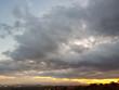 Tramonto con nuvole