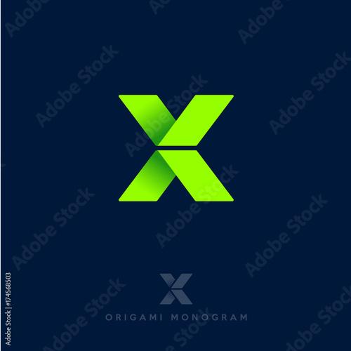 Fotografie, Obraz  X logo