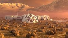 Mars Planet Satellite Station ...
